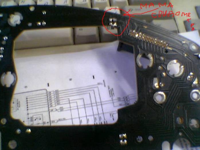 Не работает спидометр или стрелка «прыгает» А100 39